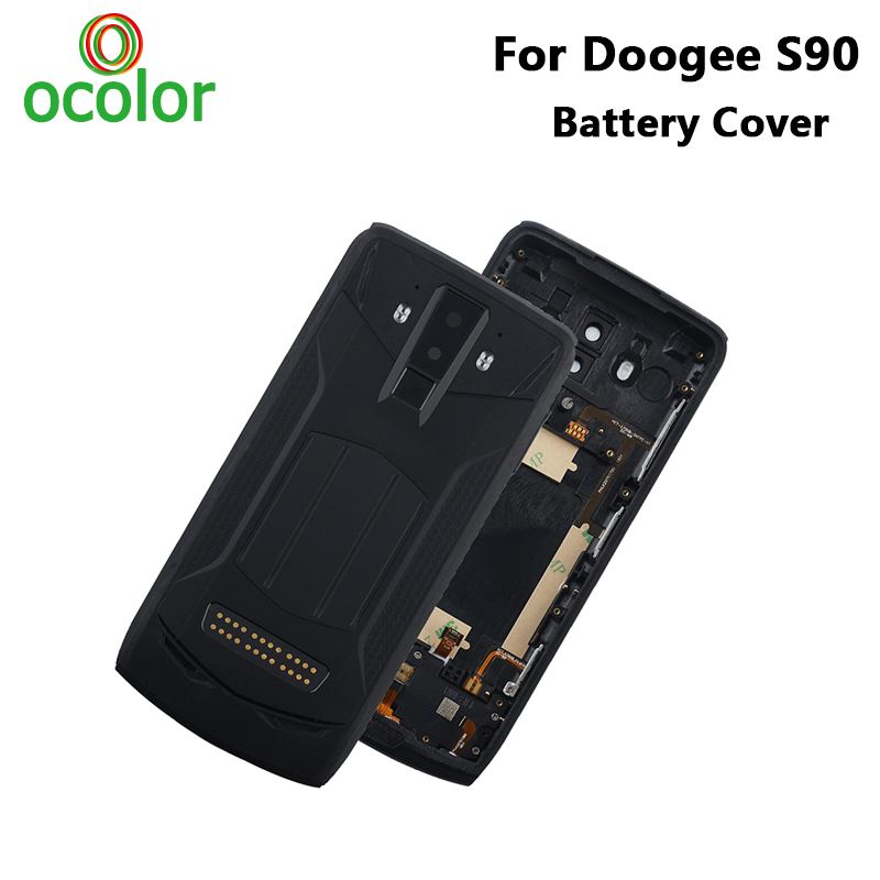 ocolor For Doogee S90 Battery Cover Case Hard Bateria Protective Back Cover Replacement For Doogee S90
