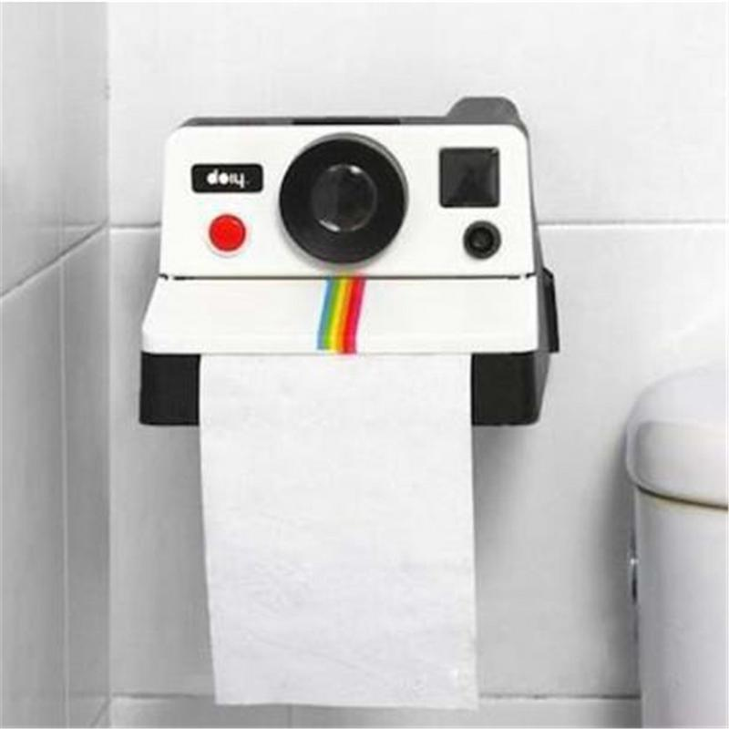 Retro Cute Camera Paper Towel Tube Toilet Paper Tray Paper Towel Pumping Household Tissue Box Pumping