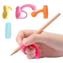 4 шт./компл. карандаш Акупунктурной Терапии рукописного ввода помощи детские школьные канцелярские ручки Управление карандаш держатель инструмента