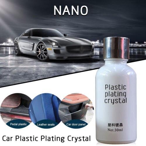 Car Plastic Plating Refurbishing Agent - Leather Care Maintenance Coating Polish 1