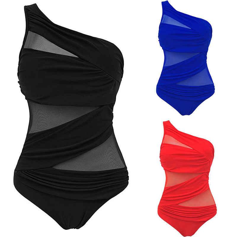 Nowych kobiet jednoczęściowy strój kąpielowy Monokini stroje kąpielowe stroje kąpielowe Push Up bikini kąpielowe