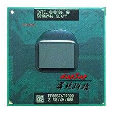 إنتل كور 2 Duo T9300 الخبث سلاي 2.5 GHz ثنائي النواة ثنائي الموضوع معالج وحدة المعالجة المركزية 6 متر 35 واط المقبس P