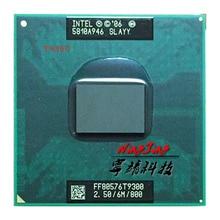 Intel Core 2 Duo T9300 SLAQG SLAYY 2.5 GHz Dual Core כפול חוט מעבד מעבד 6 M 35 W Socket P
