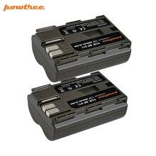 цена на Powtree 2800mAh BP-511 BP511 BP 511 BP-511A Battery For Canon G6 G5 G3 G2 G1 EOS 300D 50D 40D 30D 20D 5D Digital Camera L10