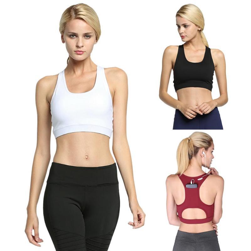 Sexy Women Sportswear Sports Bra Gym Fitness Yoga Tank Tops Athletic Vest