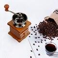 Мельница для кофе в зернах классическая деревянная ручная кофемолка керамическая мельница домашний кухонный инструмент