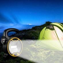 Camping Light LED Camping Light Mini Portable Lantern With Flashlight COB Lawn Light