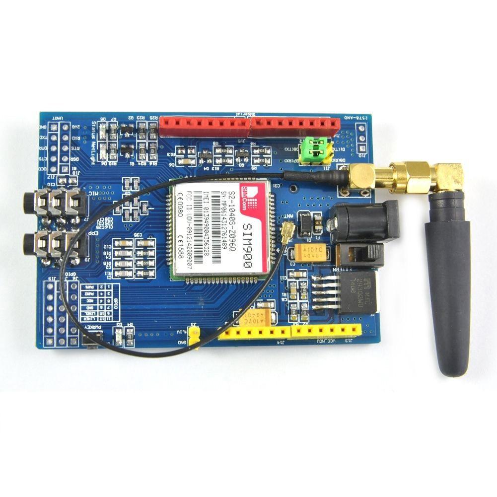 SIM900 Module Quad-Band Development Board GSM GPRS For Arduino Raspberry Pi