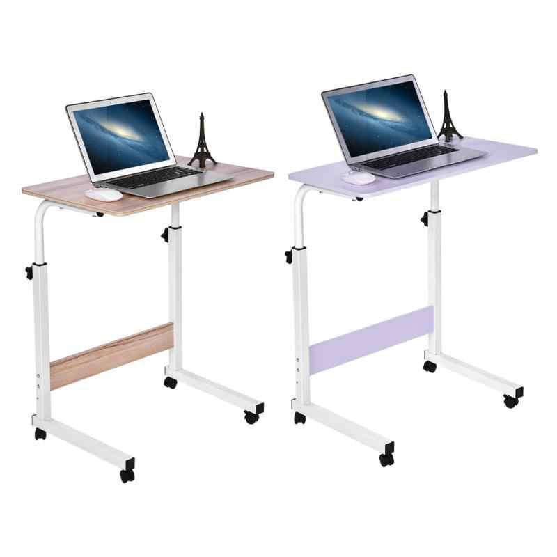 Регулируемая высота ноутбук Настольный компьютер настольная подставка стоял Рабочий стол движимого диван складной стол ноутбук