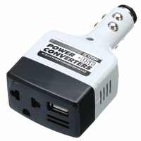 1pcs DC 12V/24V AC 220V Car Charge Power Converter Adapter Charger USB Inverter Car Electronics Accessories
