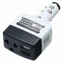 1pcs DC 12V/24V AC 220V Car Charge Power Converter Adapter Charger USB Inverter Car Electronics Accessories