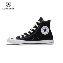 купить CONVERSE ALL STAR  CHUCK TAYLOR Man Skateboarding Shoes Classic Original Fashion Women Anti-Slippery Sneakers # 101009 дешево