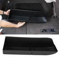Black ABS Car Trunk Storage Box Tray Car Accessories for Land Rover Discovery 5 2017 2018