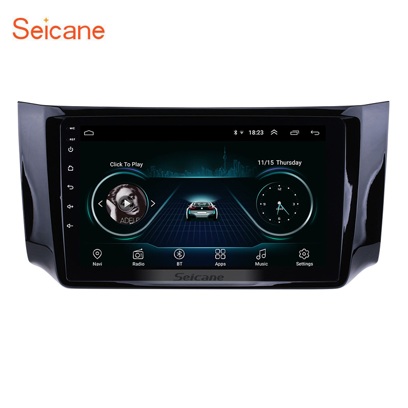 Seicane 10 1 Android 8 1 Touch Screen radio Bluetooth GPS Navigation system For 2012 2016