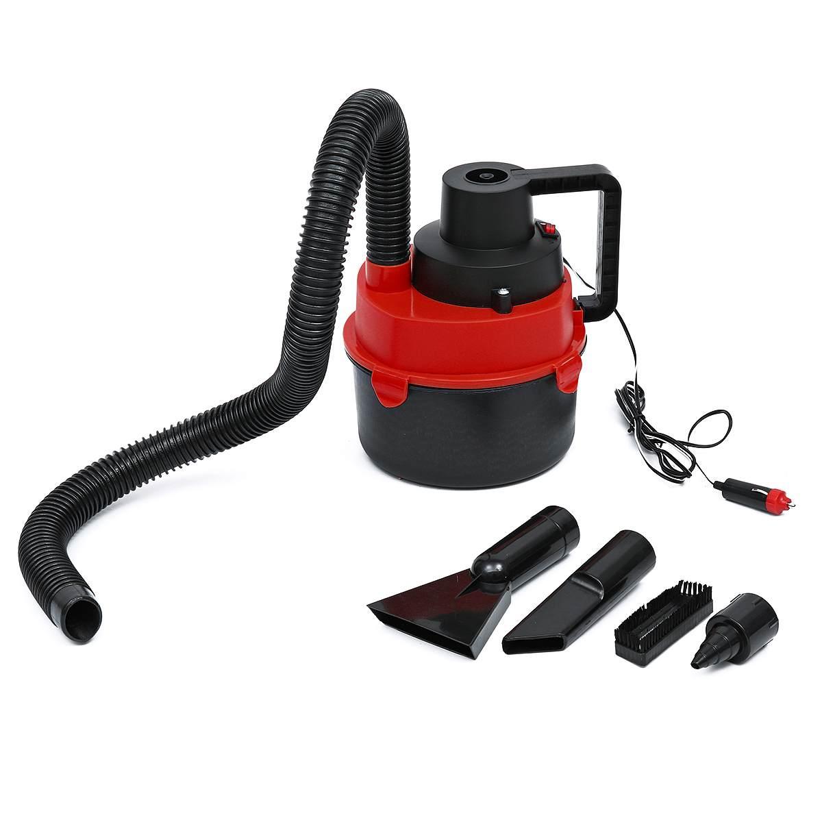Portable Handheld Wet Dry Car Vacuum Cleaner 12v Inflator