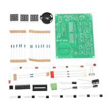 DIY AT89C2051 9V-12V Digital LED Electronic Clock Kit Suite DIY Six 6 Bits
