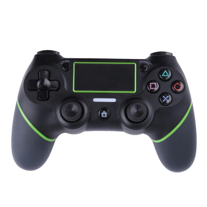 Manette de jeu sans fil Bluetooth officielle sensible à la pression pour PS4