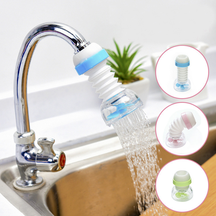 Faucet Water Filter Splash-Proof Shower Tap Implement Kitchen Water Purifier Nozzle Filter Water-Saving Device