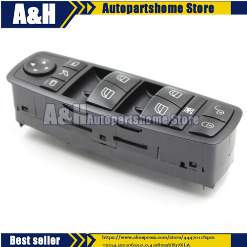 A1698206710 W245 W169 A1698206710, <font><b>1698206710</b></font>, A 169 820 67 10 For Master Power Window Switch Fits image