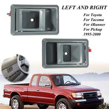 TO1353105 TO1352105 Front Left  Right Side Interior Door Handle For Toyota Tacoma 4Runner Pickup 1995 2000 6920504010 6920604010 Exterior Door Handles     -