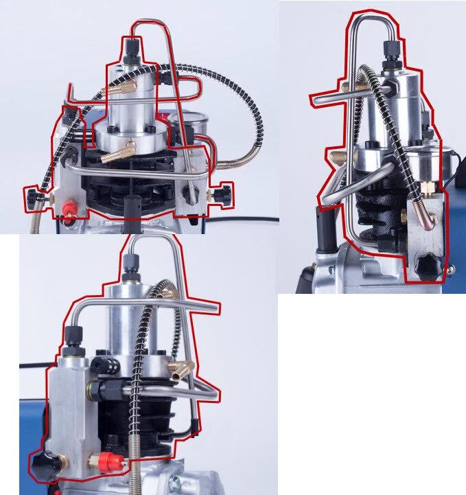 Yongheng Air Compressor Head(like The Image)