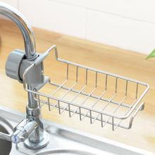 Practical Faucet Rack Detergent Sponge Dry Holder Storage Organizer Shelf Kitchen bathroom shower shelf