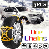 3pcs 165 265mm Car Universal Mini TPU alloy Outdoor Winter Tyre wheels Snow Chains For Cars Suv Car Styling Anti Skid Autocross