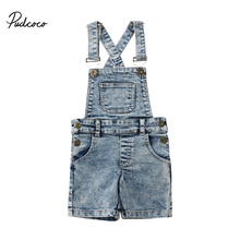 Unisex Denim Overalls Romper 2018 New Fashion Toddler Kids Baby Girl Boy Bib Pants Outfit Clothes