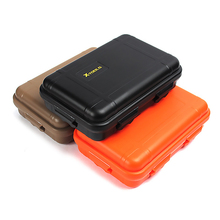 Outdoor Airtight Survival Storage Case Waterproof Shockproof Camping Travel Tools Container Storage Carry Box Sealed Containers aigo eros q high quality portable lossless hifi mp3 player dsd64 bluetooth 4 0 dac audio music player mini usb support otg 8g tf