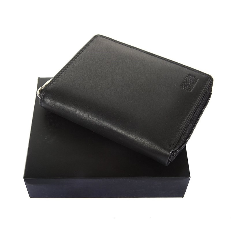 Coin Purse Mano 19009 sutura black