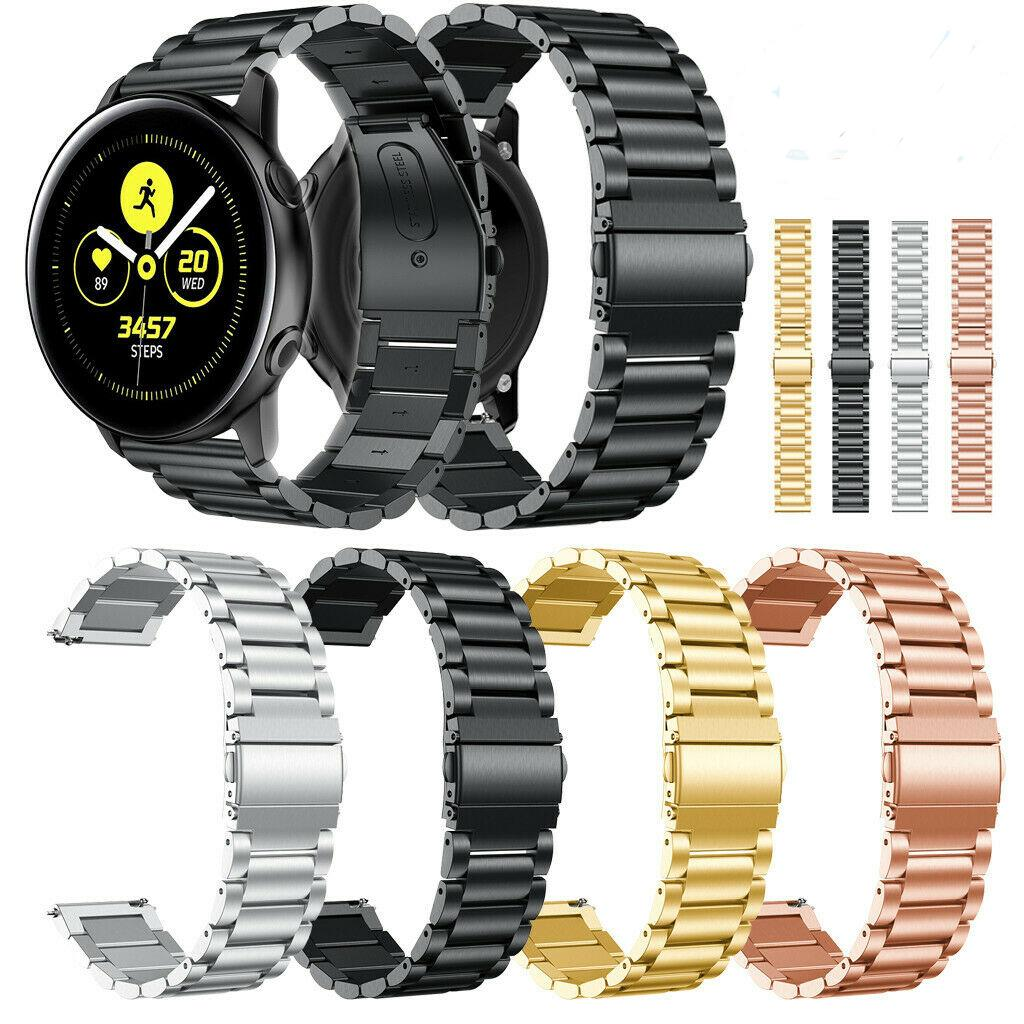 Strap For Galaxy Watch Active Replacement Stainless Steel Fashion