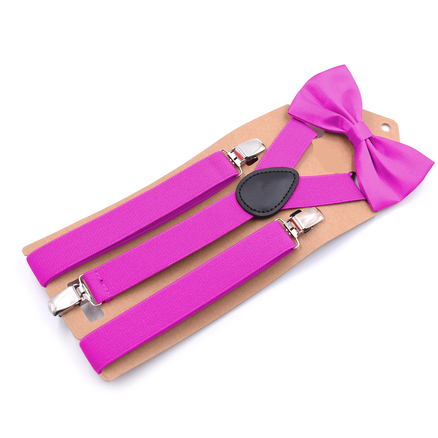 2019 Explosions Bow Tie Suit Three Clip Straps Unisex Style Strong Three Clips Adult Bow Tie Suit High Quality Fashion Suspender