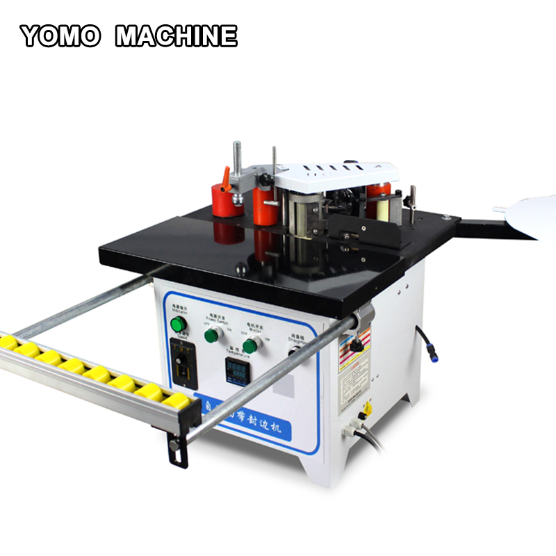 New generation manual edge bander Straight curve arc shaped banding portable edge banding Machine woodworking pvc