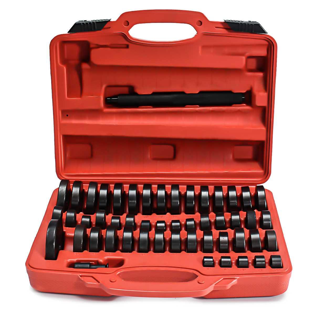 51Pcs/set Bearing Seal Driver Push Press Disc Tool for Car Repair Made of Special Carbon Steel