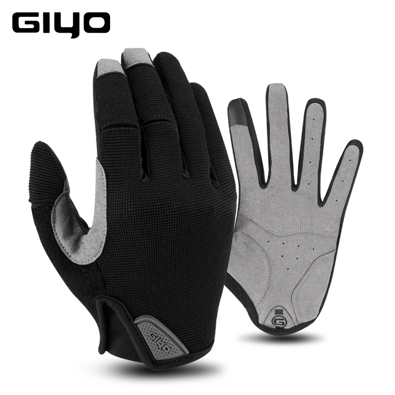 dac3a7b3 Guantes deportivos de invierno Guantes de pantalla táctil de dedo completo  a prueba de golpes para ...