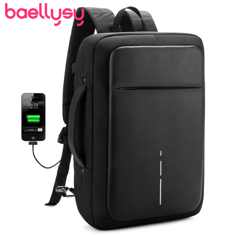 Men Anti-theft Waterproof Travel Backpack 15.6 Inch Laptop Backpack USB External Charge Shoulders Mochila Bagpack School BagsMen Anti-theft Waterproof Travel Backpack 15.6 Inch Laptop Backpack USB External Charge Shoulders Mochila Bagpack School Bags