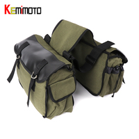 KEMiMOTO Motorcycle Bag Saddlebag Luggage Bag Travel Knight Rider For Harley Motorcycle Touring bags Universal