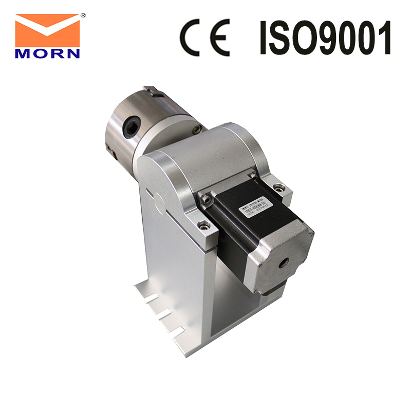 Raycus Fiber Laser Rotary Device 80mm Diamete with Identical Marking Quality