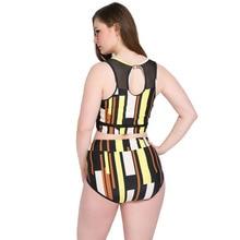 Femme Backless Plus Size Bikinis Big Bathing Suit 5XL 2019 Brand New Sexy Bikini Set Striped Print Swimsuit Women Swimwear
