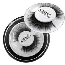 цена SHIDISHANGPIN 1 pair 3d mink eyelashes natural crisscross false eyelashes cruelty free makeup hand made full strip lashes онлайн в 2017 году