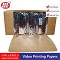 4X рулонов ультразвуковой UPP 110 S  UPP-110S термопринтер b-sheets  A6 бумага для принтера
