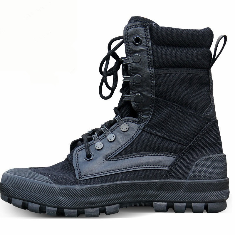 Men Women Sports Camo Canvas Shoes Spring Autumn Outdoor Hiking Hunting Climbing Army Training Breathable Wearproof