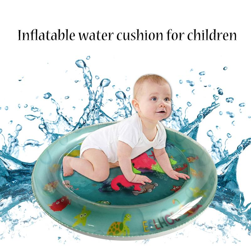 Inflatable Water Pad Toy Baby Patted Environmentally Friendly PVC Inflatable Prostrate Water Cushion Interactive Toy For Child