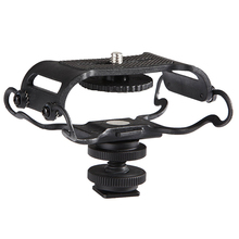 BOYA BY C10 Universal miniphone and Portable Recorder Shock Mount   Fits the Zoom H4n, H5, H6, Tascam DR 40, DR 05, DR 07 with