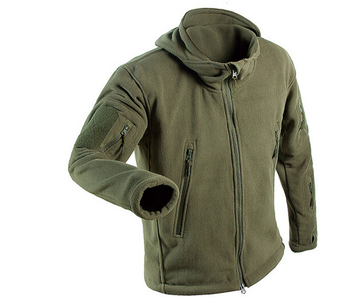 Spring And Autumn Loose Coat Lovers Grab Sweaters Warm Cardigan Tactics Chorionic Velvet Thickening Outdoors Assault Jacket