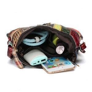Image 5 - AEQUEEN Kleurrijke Schoudertassen Voor Vrouwen Messenger Bag Patchwork Kleine Flap Tassen Design Crossbody Bolsas Feminina Heldere Kleur