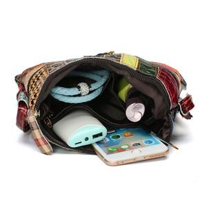 Image 5 - AEQUEEN حقائب كتف ملونة للنساء حقيبة ساعي المرقعة أكياس رفرف صغيرة تصميم Crossbody Bolsas الأنثوية لون مشرق