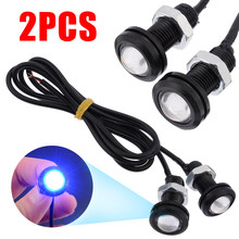 "2pcs 1/2"" NPT 12V 10W Blue LED Boat Drain Plug Light Lamp For Marine Underwater Fish Universal For All vehicles(China)"