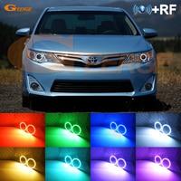 For Toyota Camry 2012 2013 2014 SE Daihatsu Altis RF Bluetooth Controller Multi Color Ultra bright RGB LED Angel Eyes kit