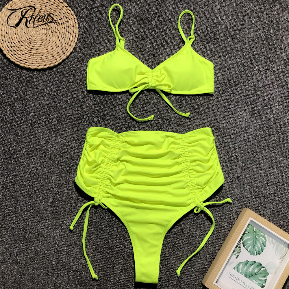 0a9f861e8184 ... Push Up vendaje Bikini Mujer LCN55. Cheap Urifens verano 2019 Sexy  leopardo playa traje de baño Mujer alta cintura traje de baño